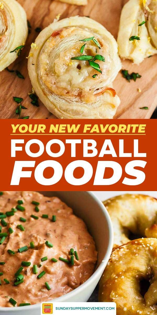 Easy Football Food Ideas for Game Day #SundaySupper