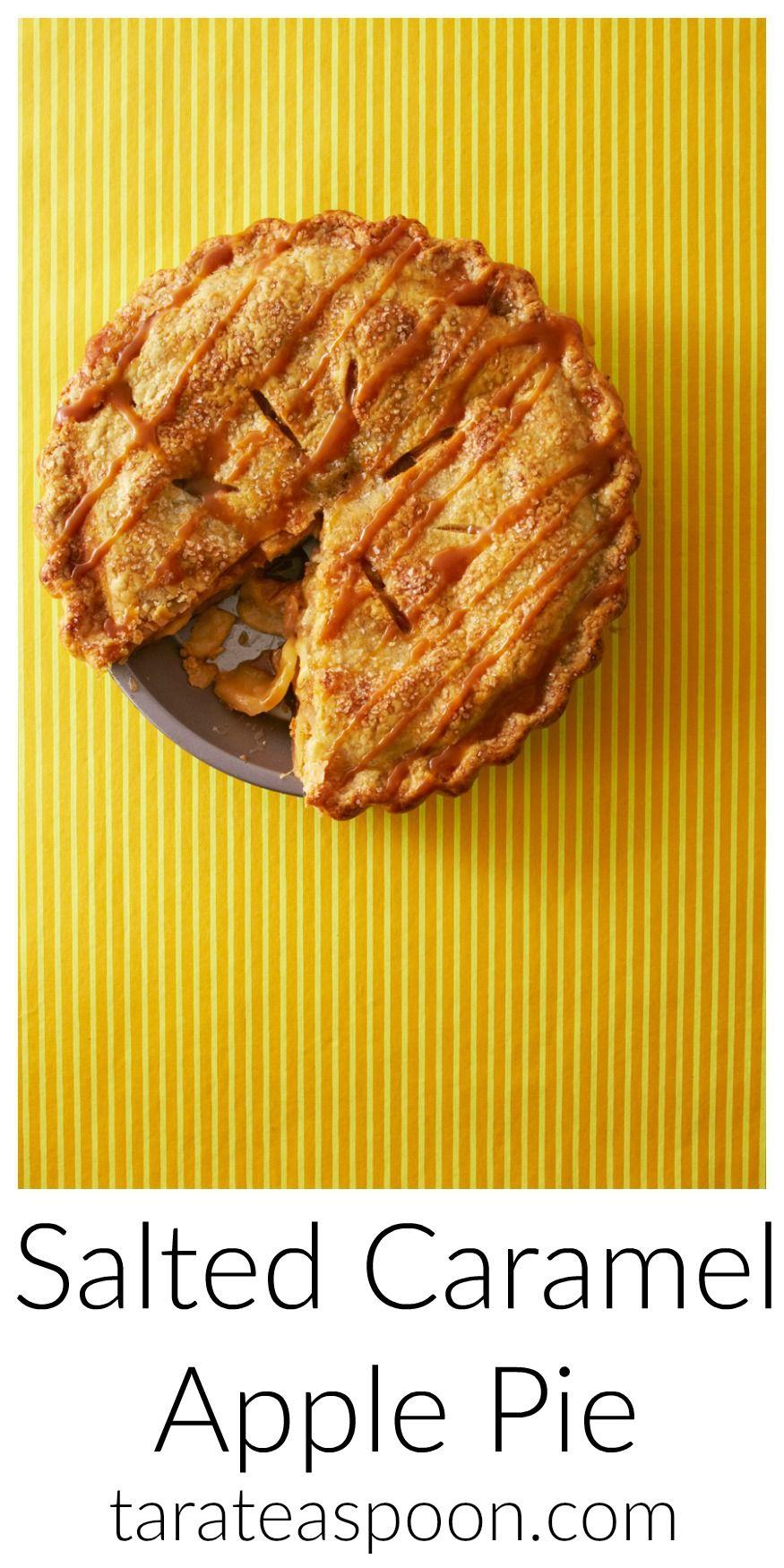 Salted Caramel Apple Pie Recipe Salted Caramel Apple Pie Salted Caramel Caramel Apple Pie