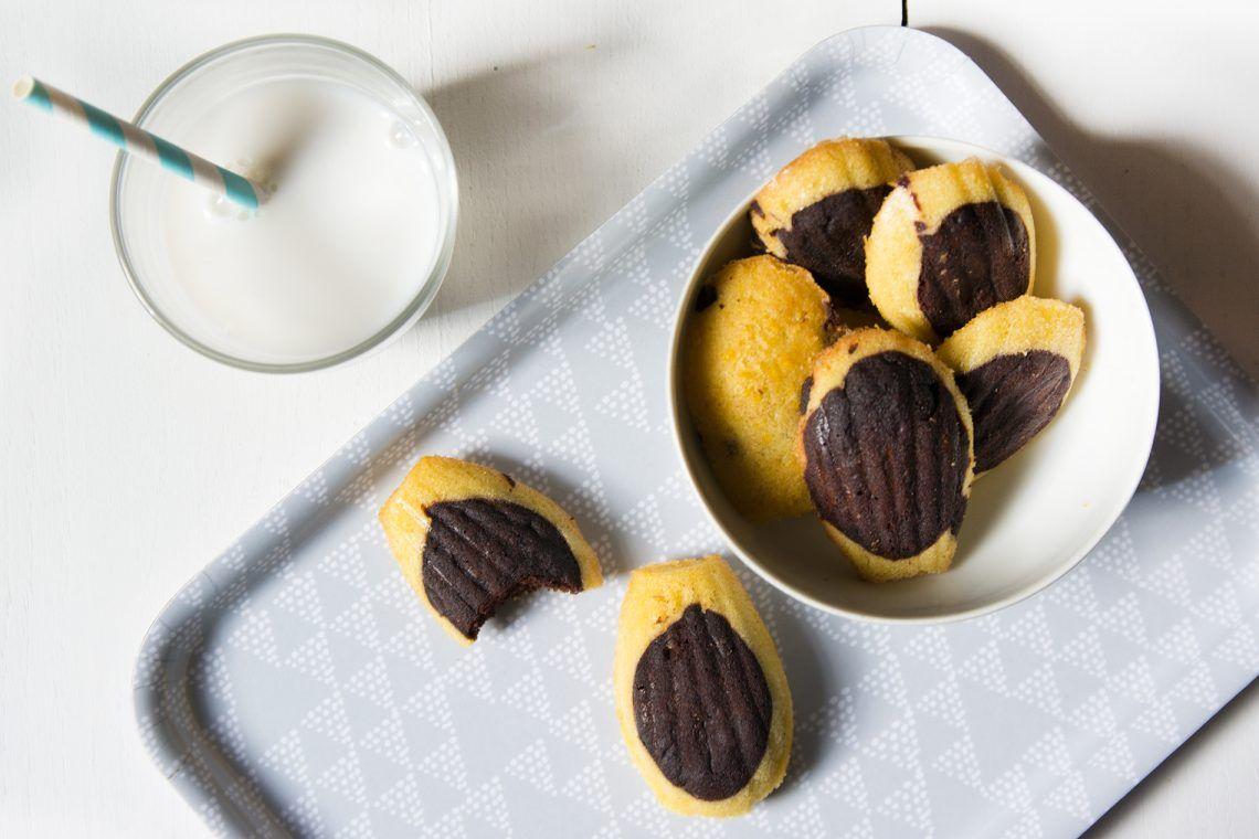 Ma recette de madeleines au chocolat sans gluten et sans lactose, très facile à réaliser !