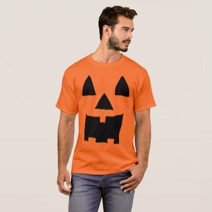 #Jackolantern Face 1 T-Shirt - #Halloween #happyhalloween #festival #party #holiday