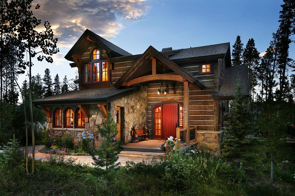 Cypress Mountain Chalet Breckenridge Colorado Breckenridge United States Cabin Style Homes Colorado Homes Cabin House Plans