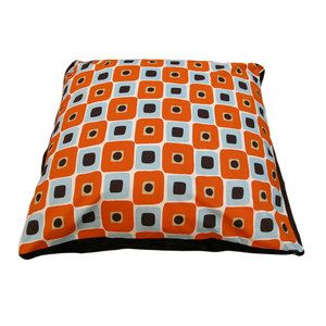 Pet Bed Orange now featured on Fab.  Sadie needs this.