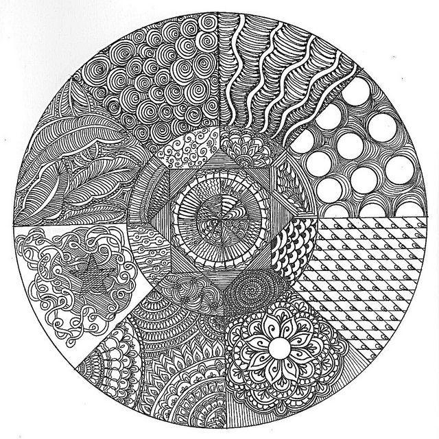 zentangle circles