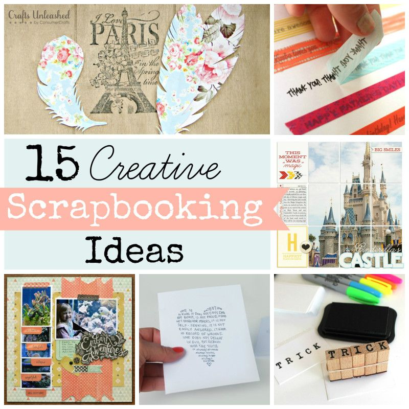 Scrapbooking Ideas Roundup 15 Techniques To Try Scrapbooking