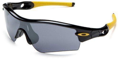 Oakley Men\u0027s Livestrong Radar Path Sunglasses,Jet Black Frame/Black Lens,one  size