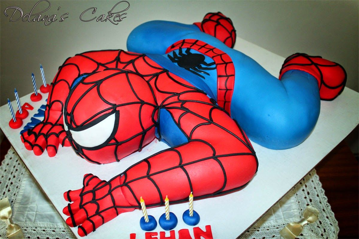 3d Spiderman Cake By Delana S Cakes Spiderman Cake Spiderman Birthday Spiderman Birthday Cake