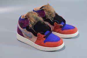 7cf872116e00 Womens Nike Air Jordan 1 Retro HiGh OG GYM red black summit white sapphfe  BV2613-600 Sneakers