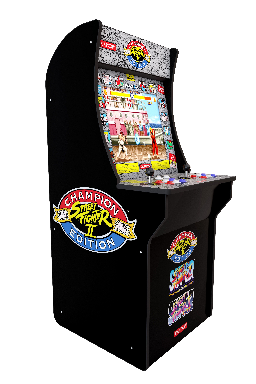 Street Fighter 2 Arcade Machine Arcade1up 4ft Walmart Com Street Fighter Arcade Street Fighter 2 Arcade Arcade Machine
