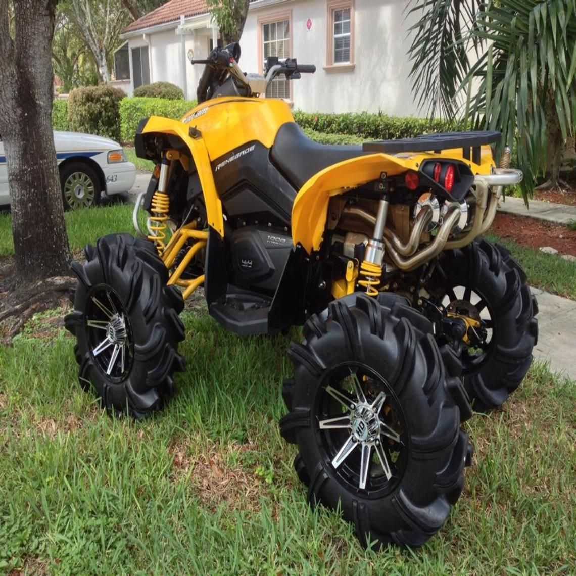 Can Am Renegade 1000 4 Wheelers Can Am Canning