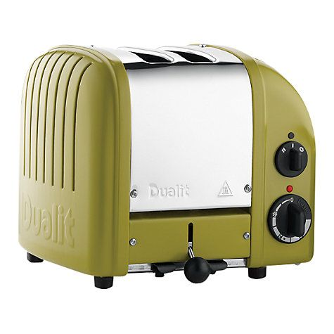 Dualit Heritage Citrine NewGen 2-Slice Toaster - beautiful colour (parents love it)