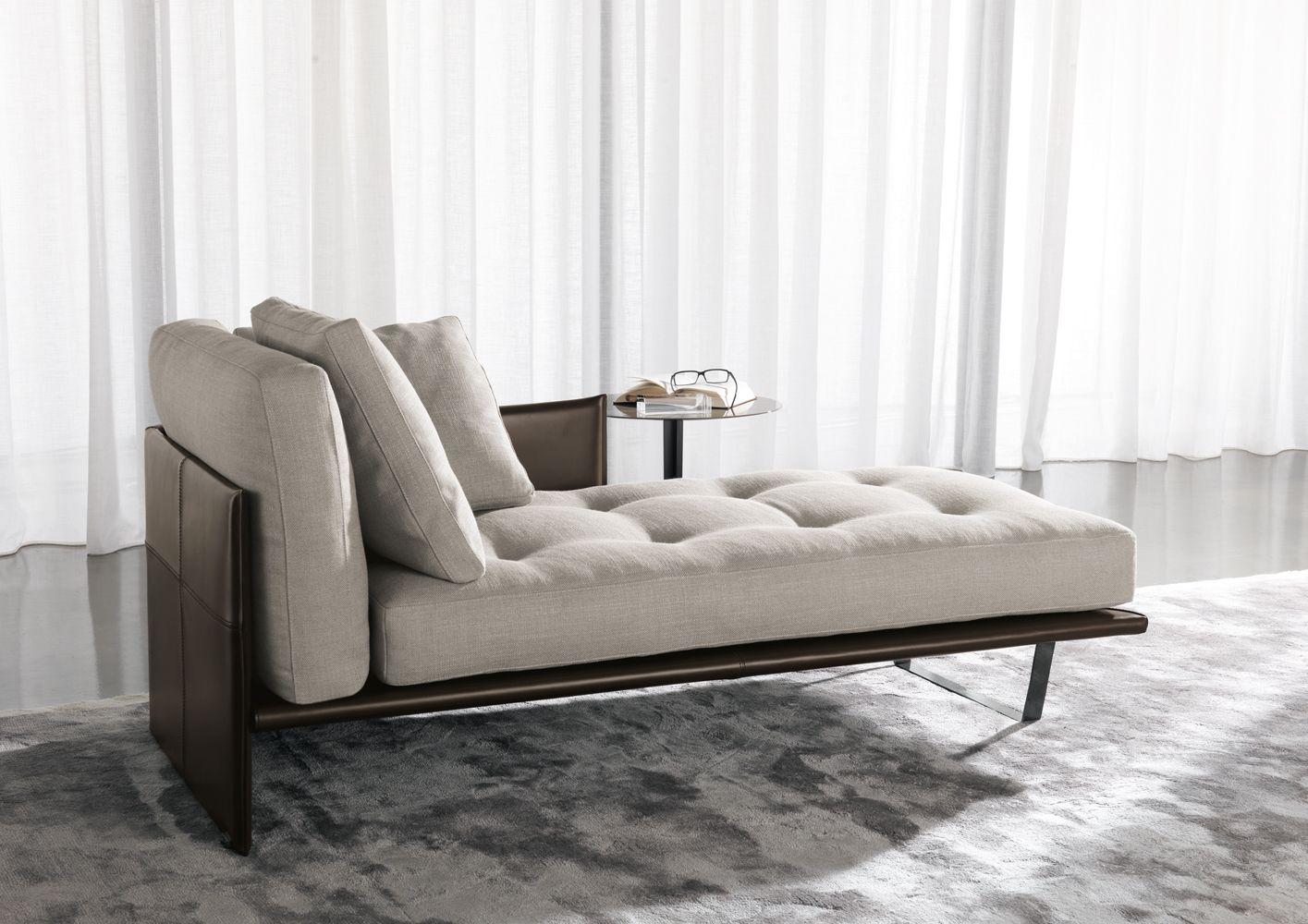 Luggage Chaise Lounge Designed By Rodolfo Dordoni Chaise Lounge