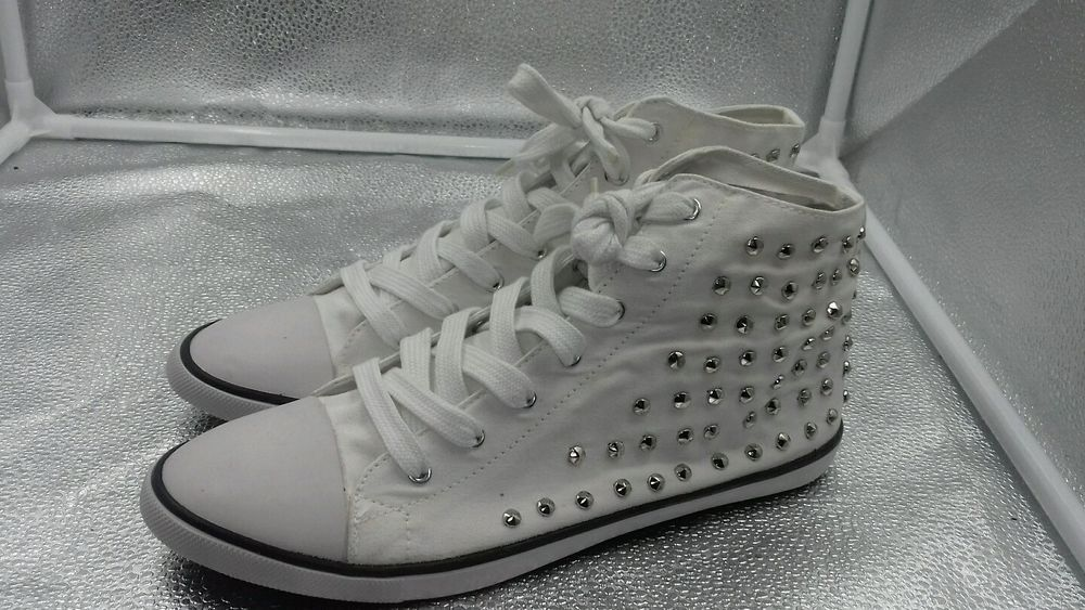 coupon codes discount shop check out Office Sz 40 7 White Androquai Baseball Boots Trainers ...