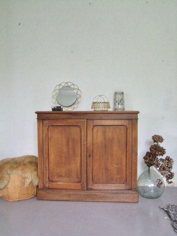 Buffet ancien bois massif Pataluna Pinterest Brocante