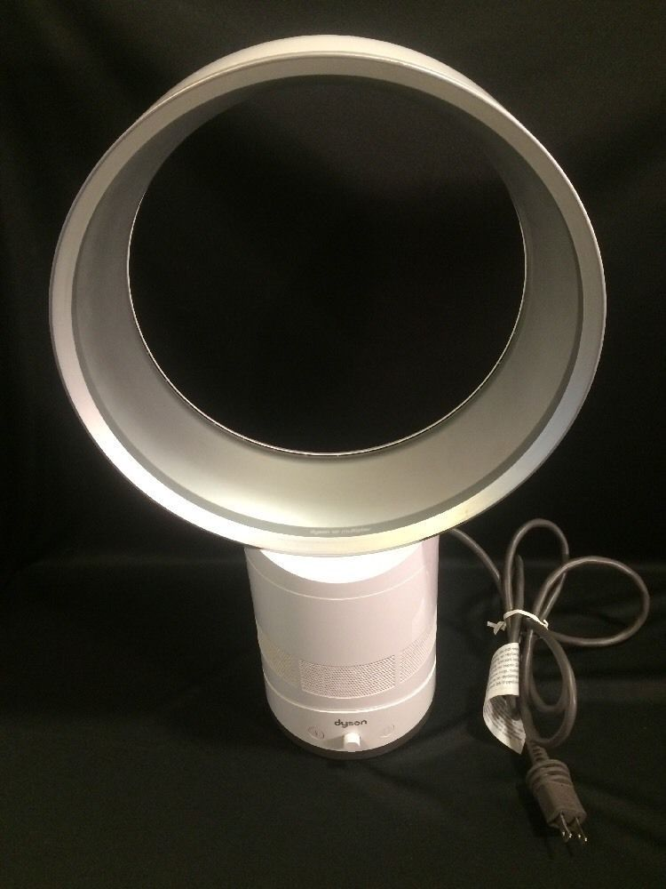 Dyson Am01 Air Multiplier White Bladeless Table 10 Electric Fan