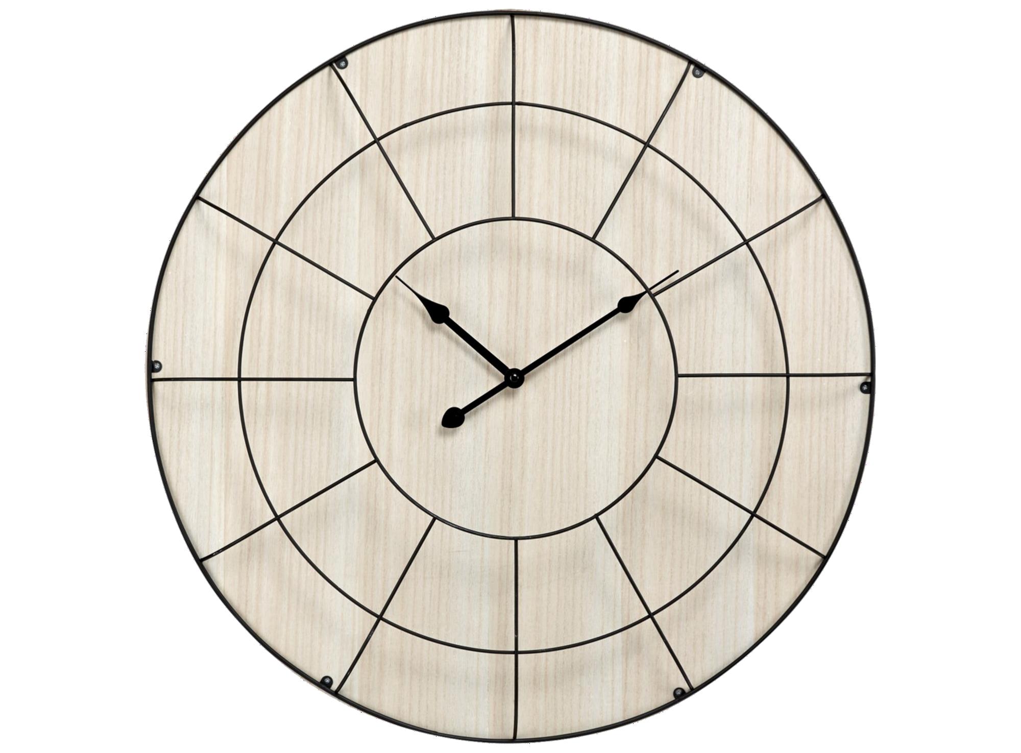44 Horloge D60cm Filaire Bois Fly Horloge Murale Moderne Horloge Murale Horloge