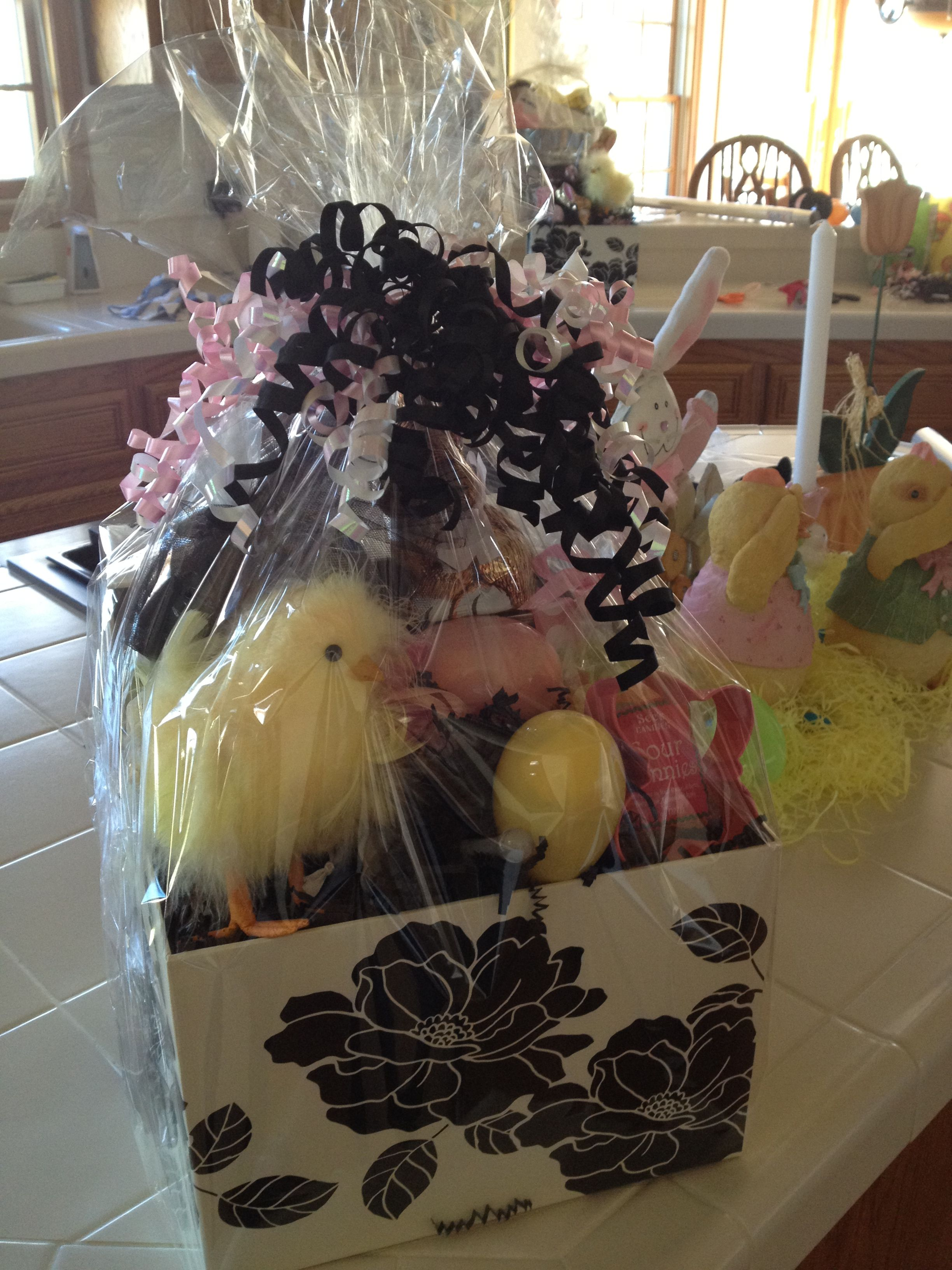 Easter basket for my adult kids easter ideas pinterest easter basket for my adult kids easter basketsgift negle Choice Image