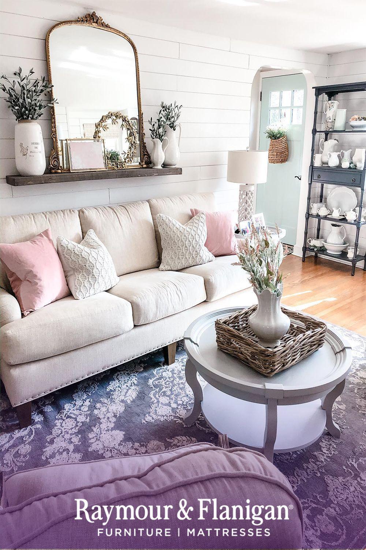 Alford Farmhouse Sofa In 2020 Living Room Decor Fireplace Farmhouse Sofa Home #off #white #living #room #ideas