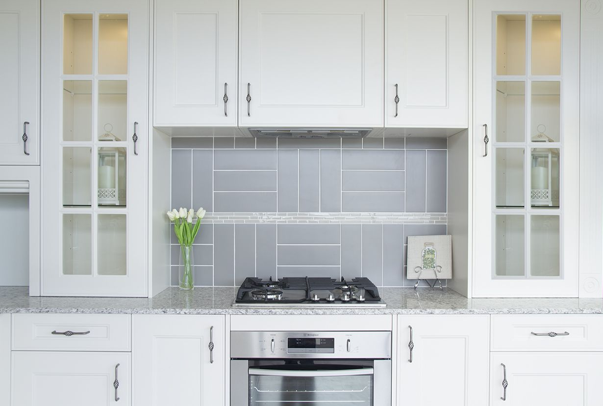 This modern design has a stylish finish with practical handles and ...