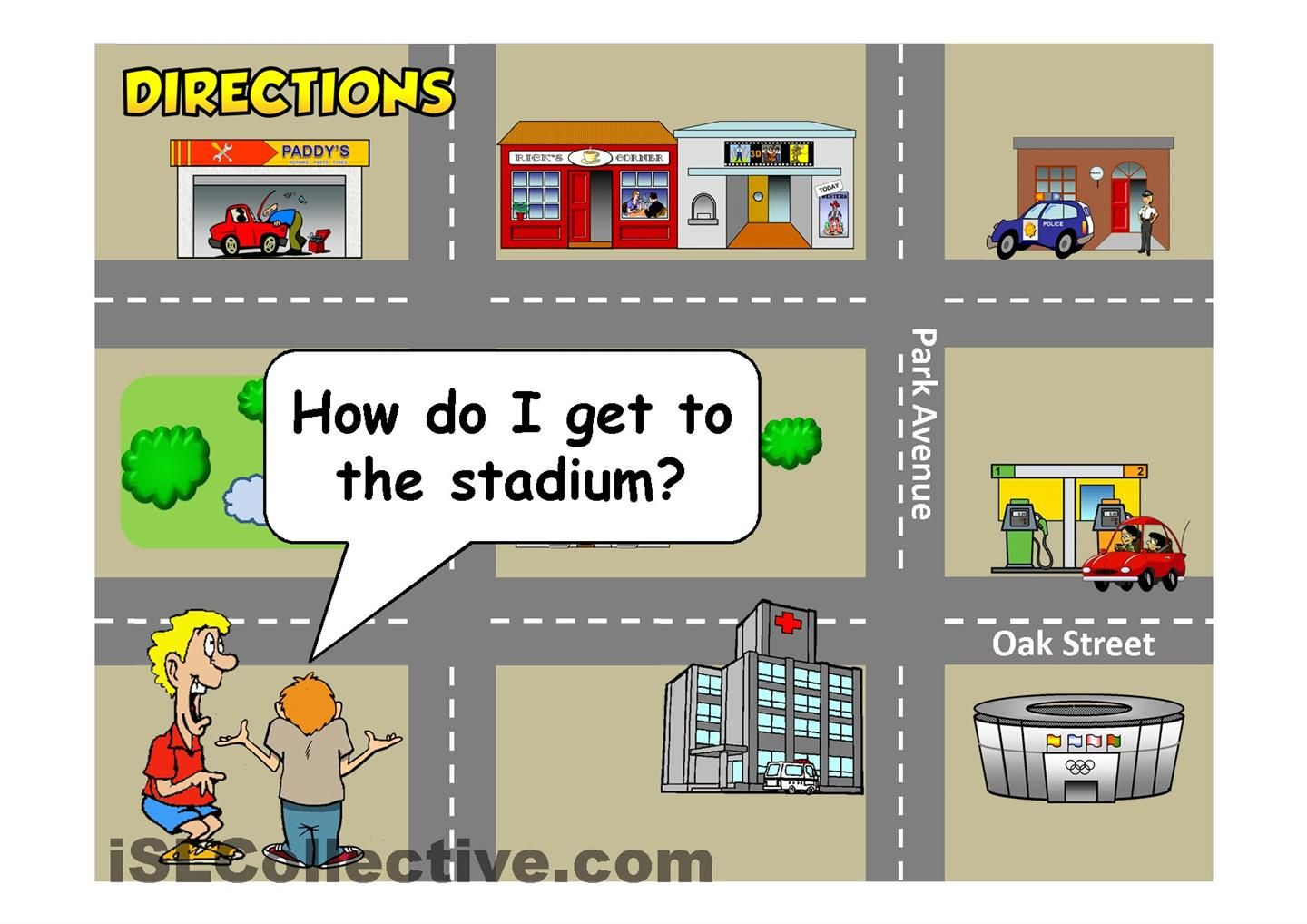 Locations Amp Directions Ppt