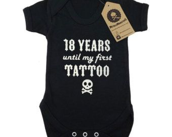 I LISTEN TO SLIPKNOT WITH MY DADDY FUNNY COTTON BABY VEST OR BIB