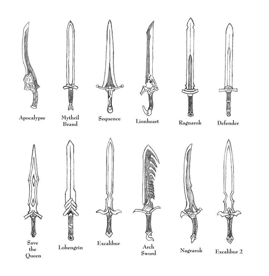 Weapons Of Ffta Knightswords By Bladedog On Deviantart