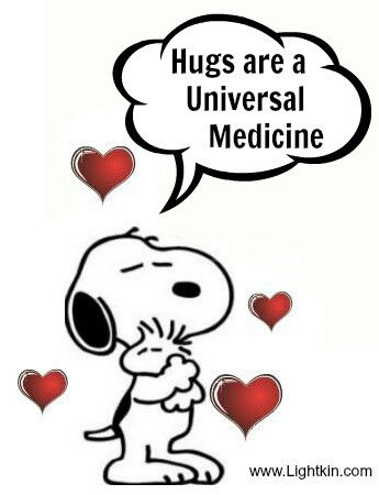 Hugs Make You Feel Better Snoopy Funny Snoopy Love Snoopy Quotes