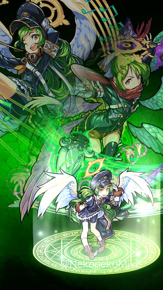 モンスト ガブリエル 完全無料画像検索のプリ画像 Monster Strike Original Image Character