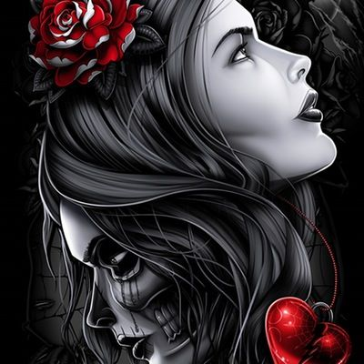 Image of Love Now, Die Later Fine Art Giclee Print