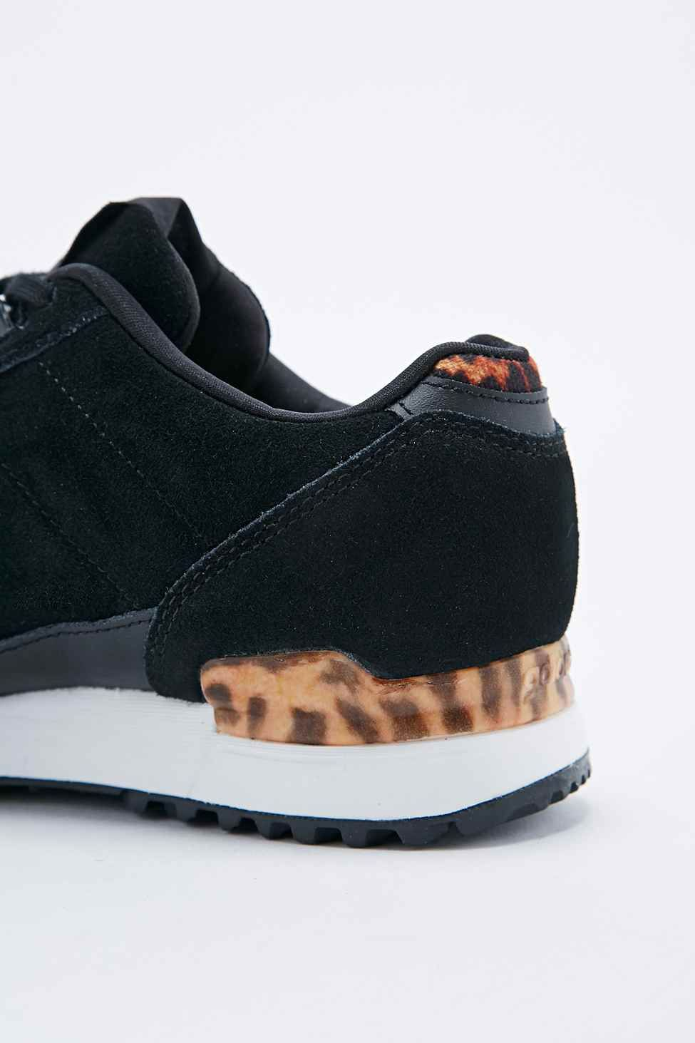 7fa2c1145d08 adidas ZX 700 Trainers in Leopard Print and Black