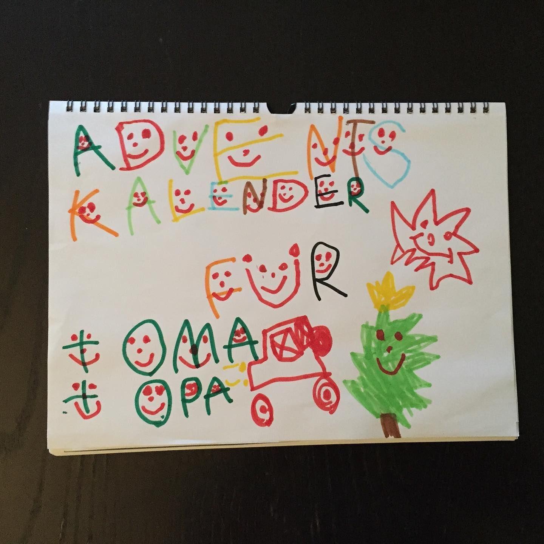 Adventskalender Für Oma Und Opa