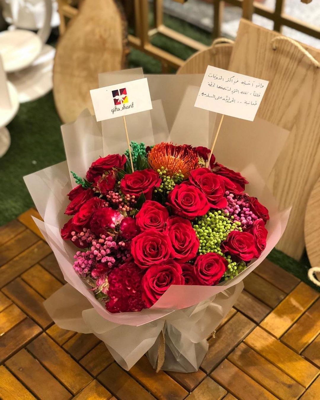 مساء الورد هدايا شريف Gifts Sharif لمشاهدة جميع الصور لفو الشاشه لليسار عبارة عن بوكية ورد Gift Blog Gifts Diy
