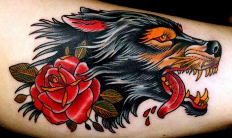 Old School Tattoos Wolf Tattoo Design Wolf Tattoos Wolf Tattoo