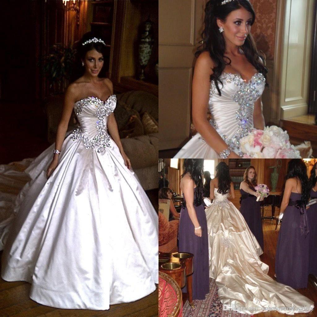 Ball Gown Wedding Dresses : Pnina Tornai wedding dress adorned in ...