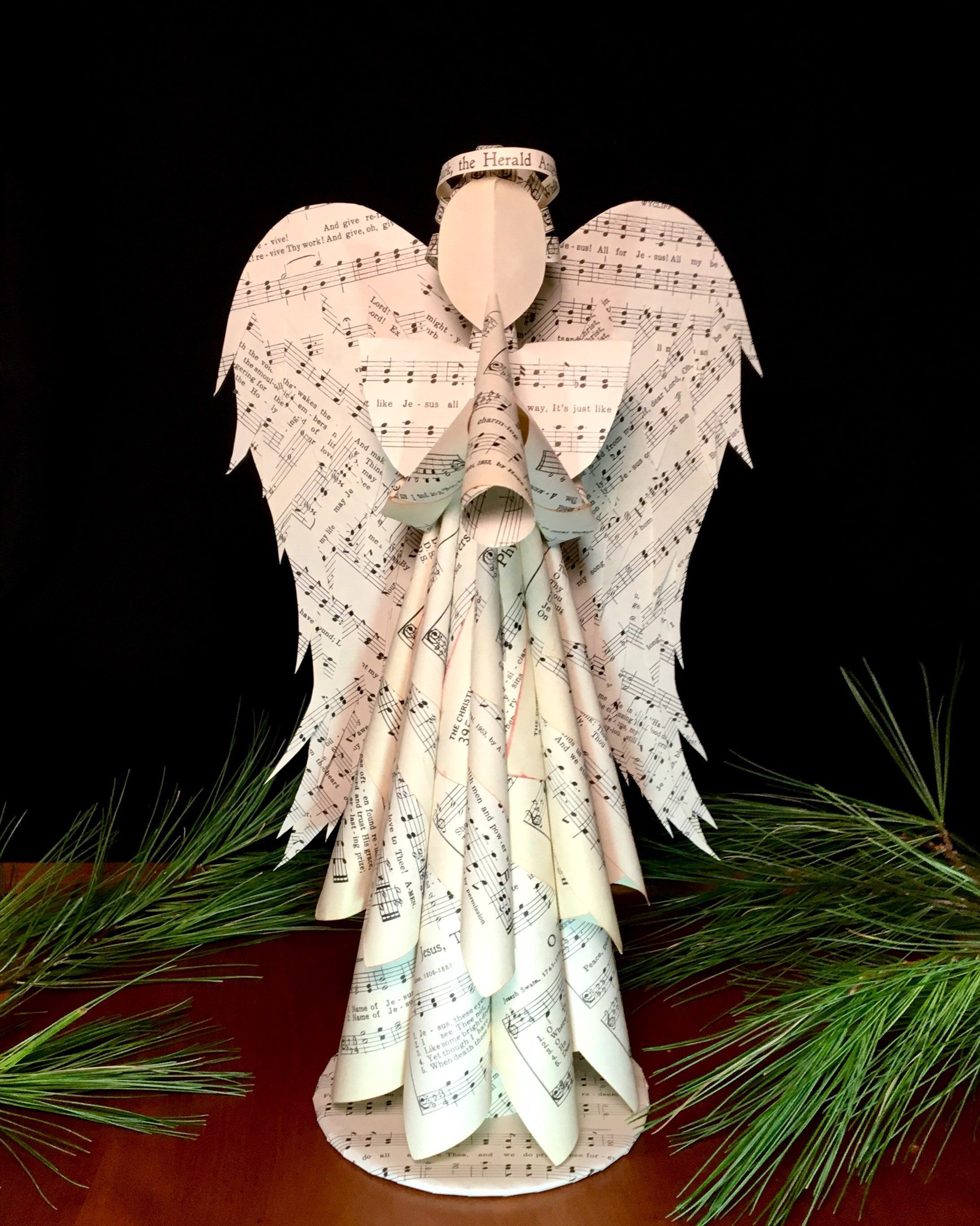 Excited To Share This Item From My Etsy Shop Large Paper Angel Tree Topper Christmas Decorati Christmas Angels Paper Christmas Ornaments Christmas Ornaments