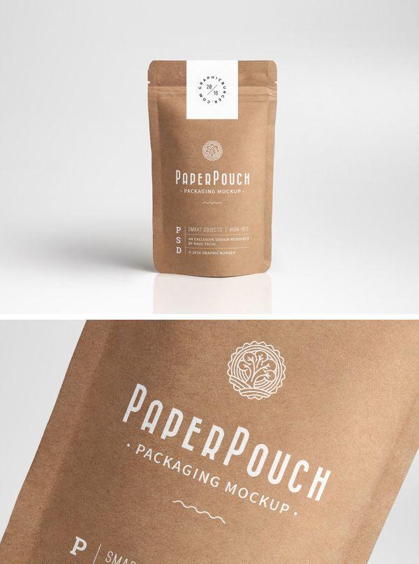 105 Product Packaging Mockups Free Premium Tea Packaging Design Pouch Packaging Food Packaging Design