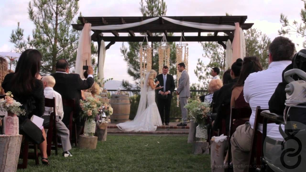 Bryce And Laura Had A Beautiful Wedding In Temecula Ca At The Miramonte Winery