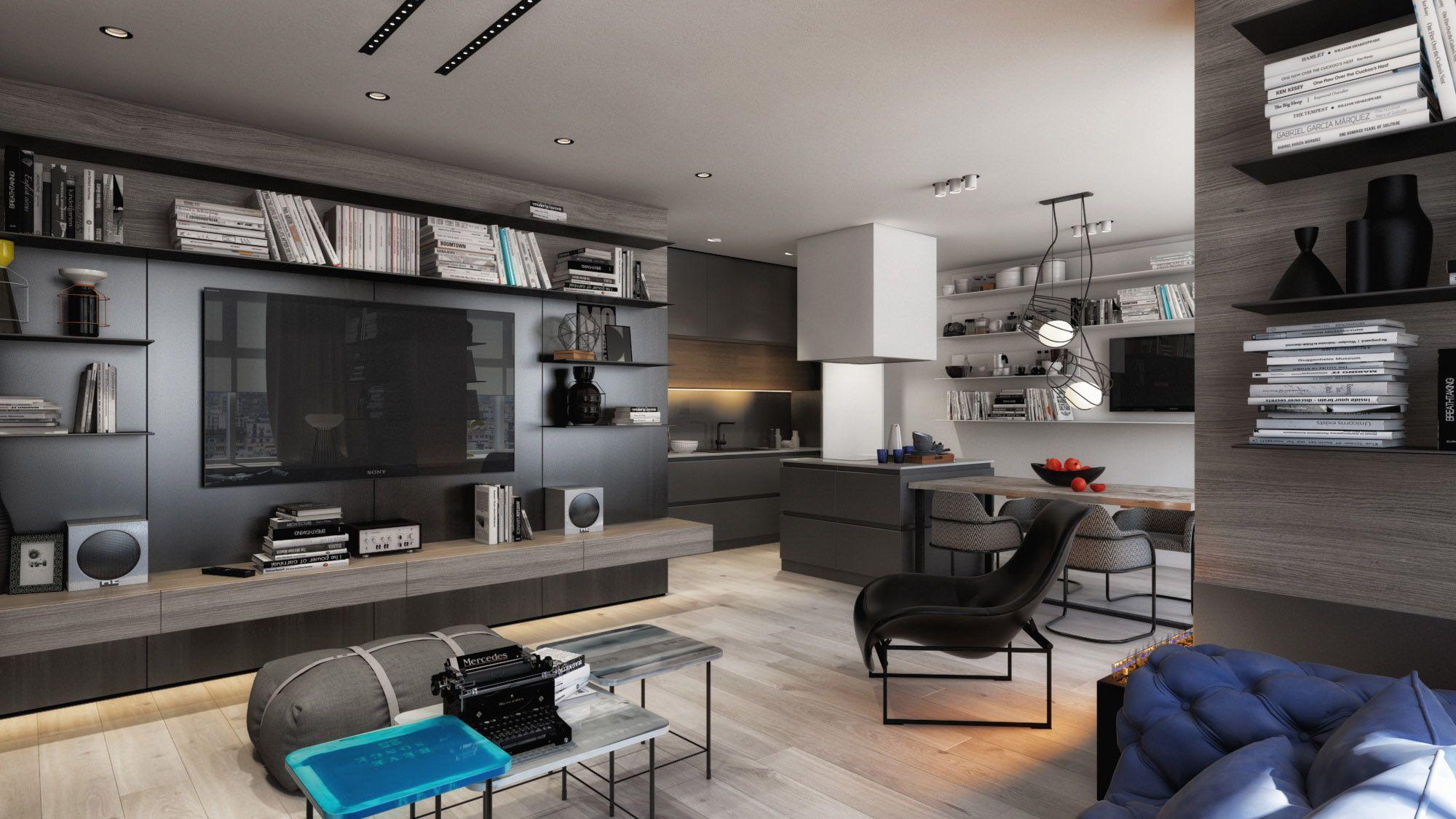 Living room by ART Studio Design&Construction ...