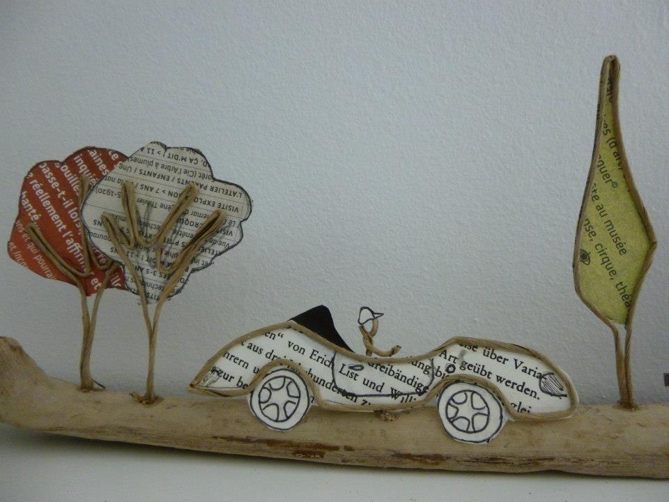 Pin von Uta Dindorf auf Kunst mit Papier | Pinterest | Draht ...