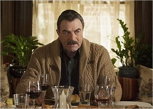 Image result for blue bloods tom selleck cardigan
