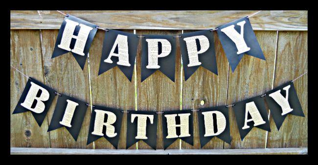 happy birthday pallet - Google Search
