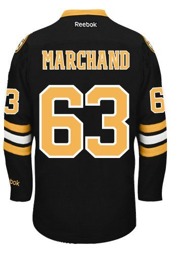 Bruins Brad Marchand Authentic Jersey