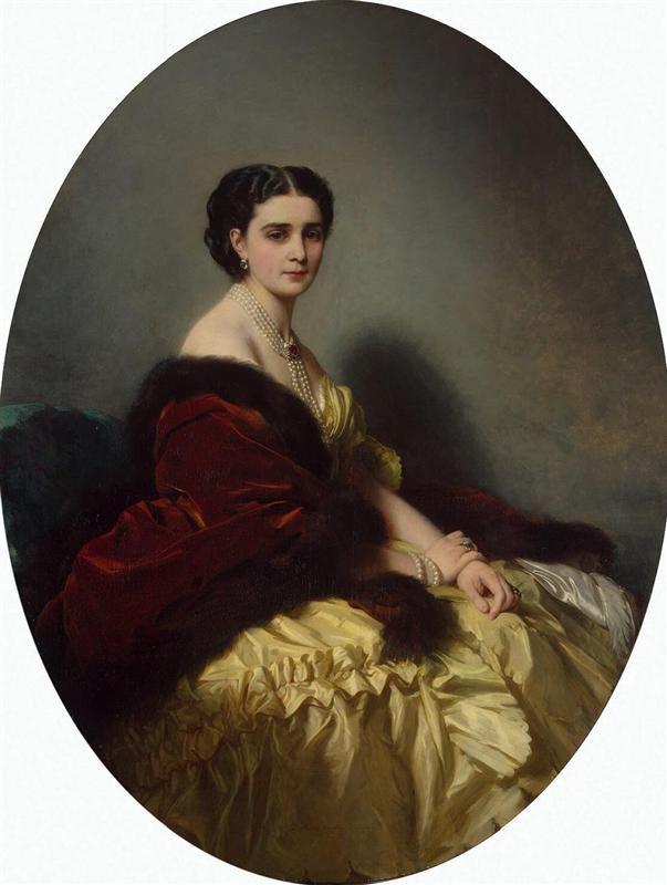 Sophia Petrovna Narishkina, 1859 Franz Xaver Winterhalter