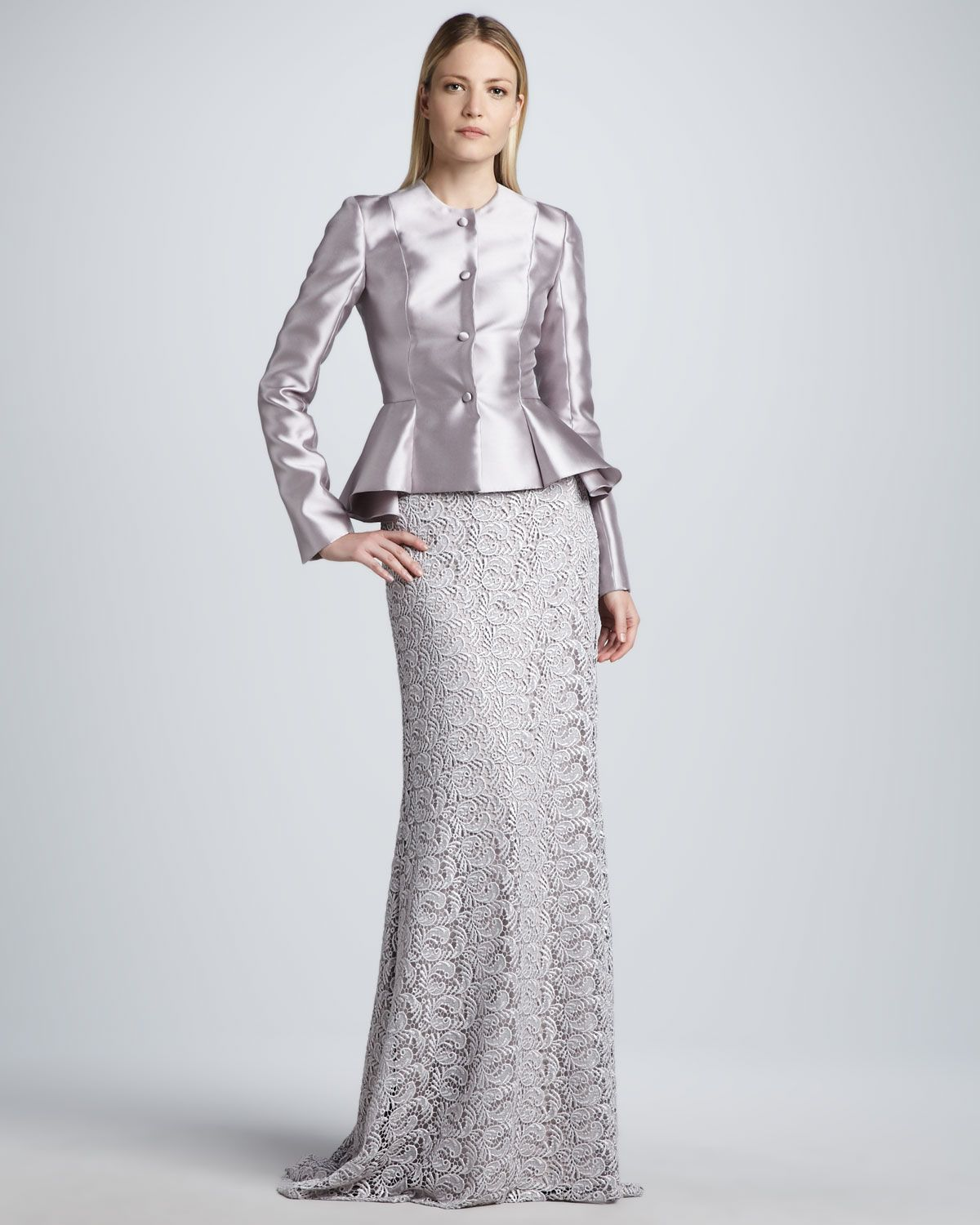 Silver peplum jacket wedding dresses pinterest peplum jacket silver peplum jacket ombrellifo Gallery