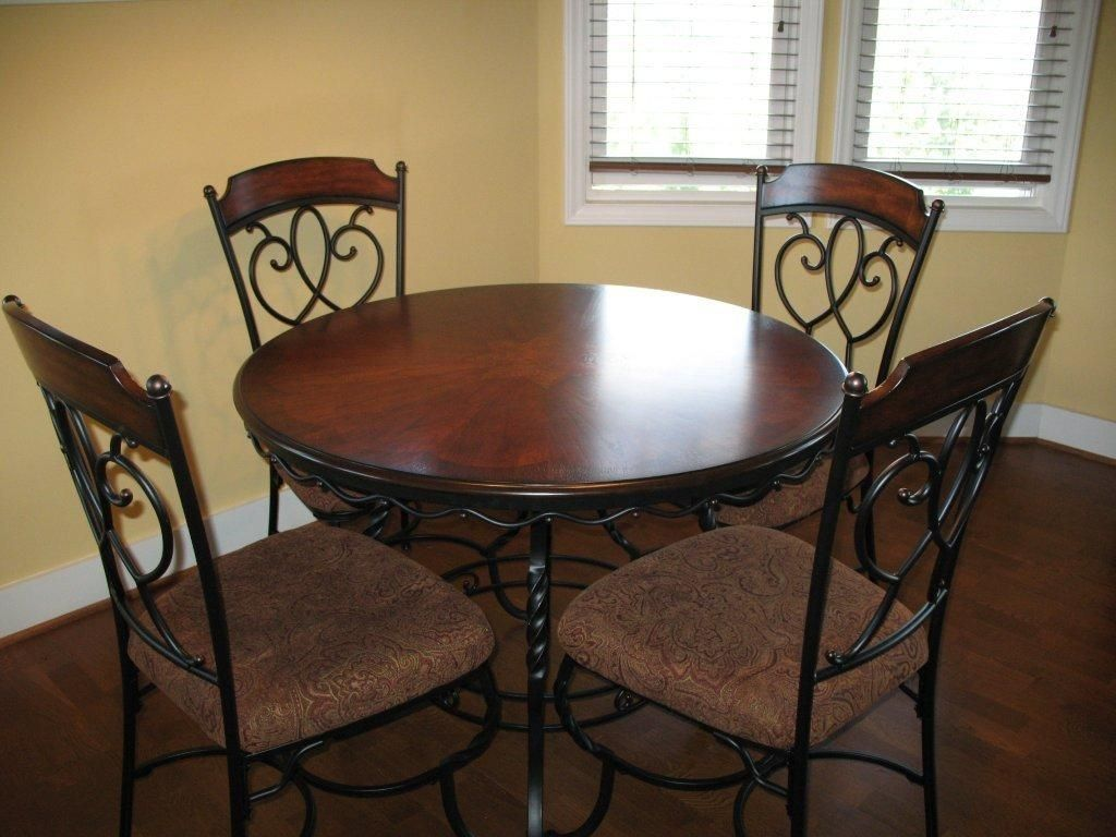 Wonderful Designs With Wrought Iron Dining Room Sets In Size 900 X Round Kitchen Table And Chairs Tables Homes Us