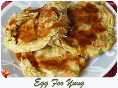 Heres a delicious egg foo yung recipe with gravy check out more here a delicious egg foo yung recipe with gravy check out more chinese local style food recipes here forumfinder Gallery