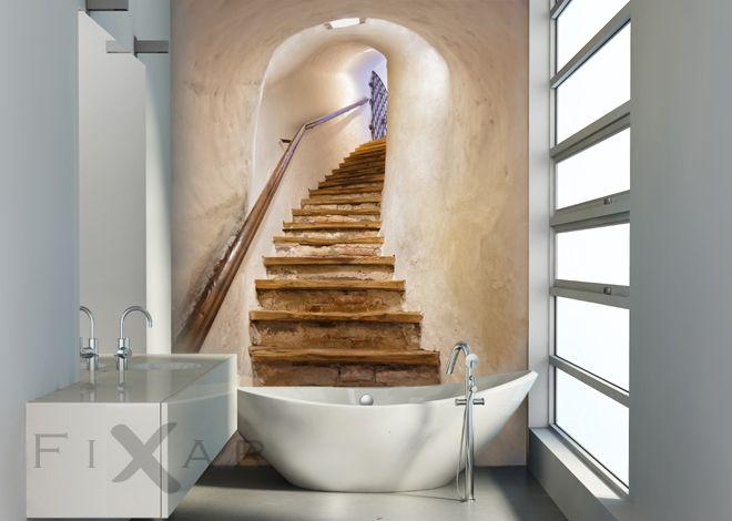 Eichenweg-furs-badezimmer-fototapeten-fixar | WZ | Pinterest ...
