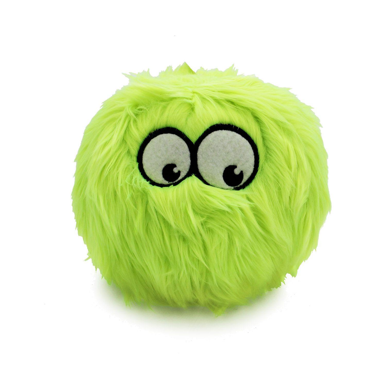 Godog Furballz Dog Toy Lime Dog Toys Pet Boutique French