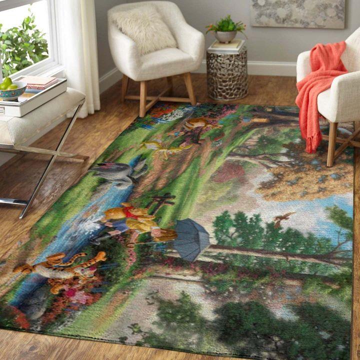 Area Rug Disney Character Floor Decor