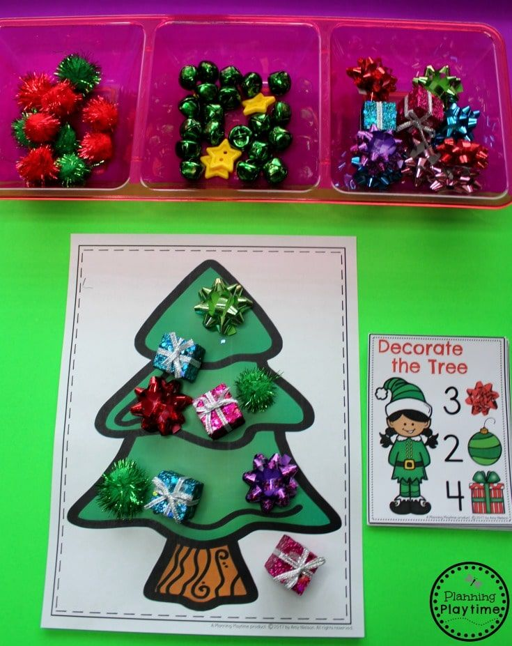 Christmas Theme for Preschool Christmas themes, Count and Decorating
