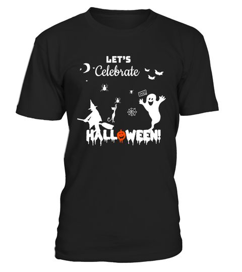 "# Funny Halloween Ghost T-Shirt - Let's Celebrate Halloween .  Special Offer, not available in shops      Comes in a variety of styles and colours      Buy yours now before it is too late!      Secured payment via Visa / Mastercard / Amex / PayPal      How to place an order            Choose the model from the drop-down menu      Click on ""Buy it now""      Choose the size and the quantity      Add your delivery address and bank details      And that's it!      Tags: This design is great for…"